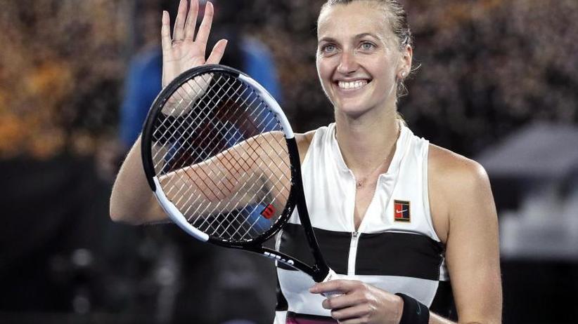 Grand Slam in Melbourne: Tschechin Kvitova im Australian-Open-Endspiel