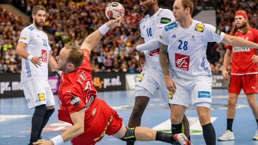 Handball Frankreich Dänemark