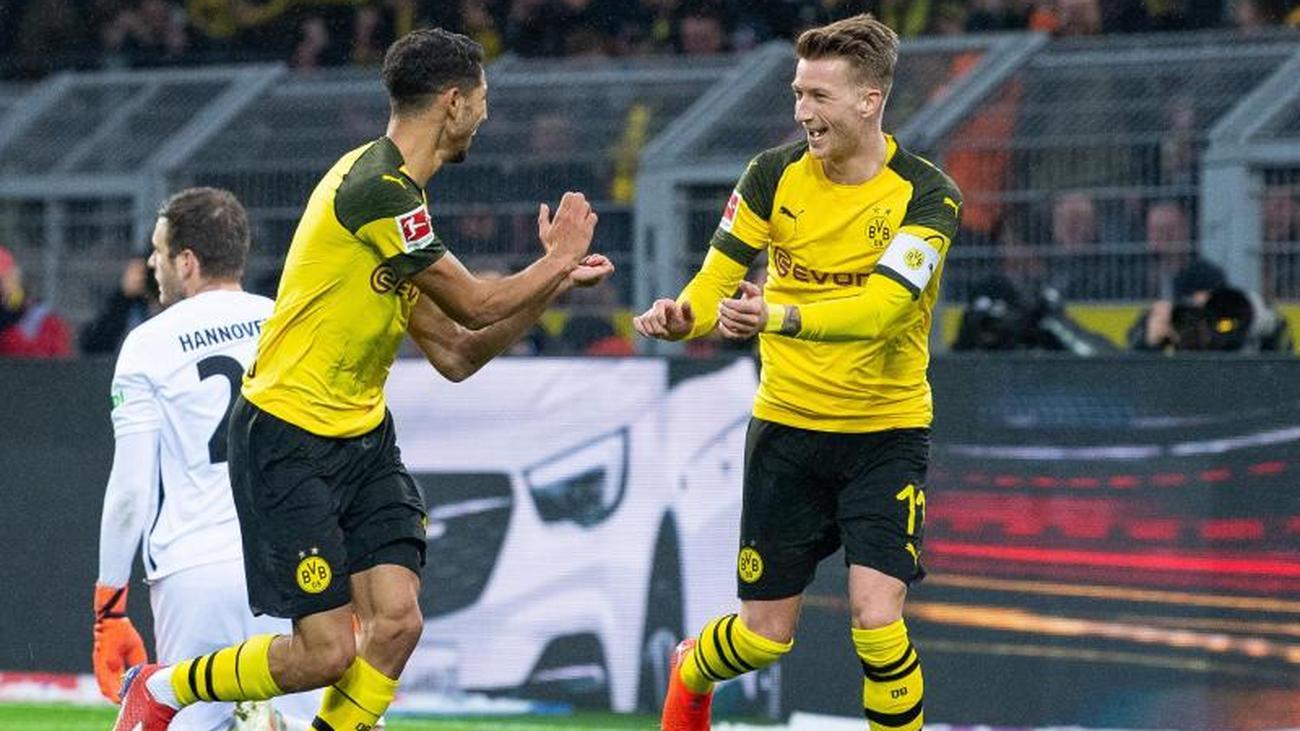 Bundesliga on Saturday: Dortmund consolidates top of the