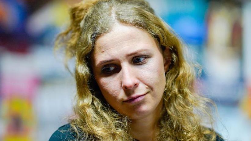 Maria Aljochina: Pussy-Riot-Aktivistin: Putin führt Krieg gegen das Volk