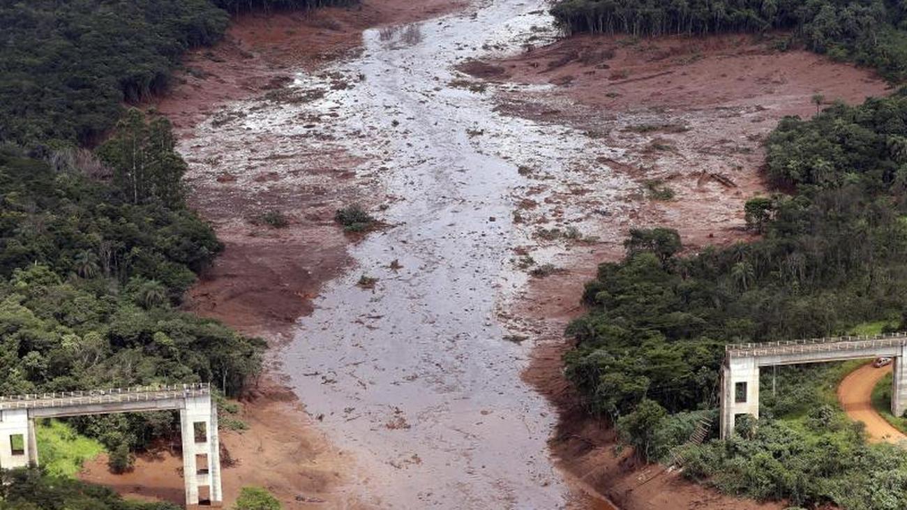 Looking for injured: mine disaster in Brazil: New dam break