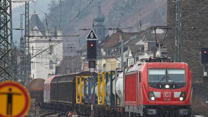Bahnlärm vor der Haustür: Rote Signale für alternative Güterzug-Trasse am Mittelrhein