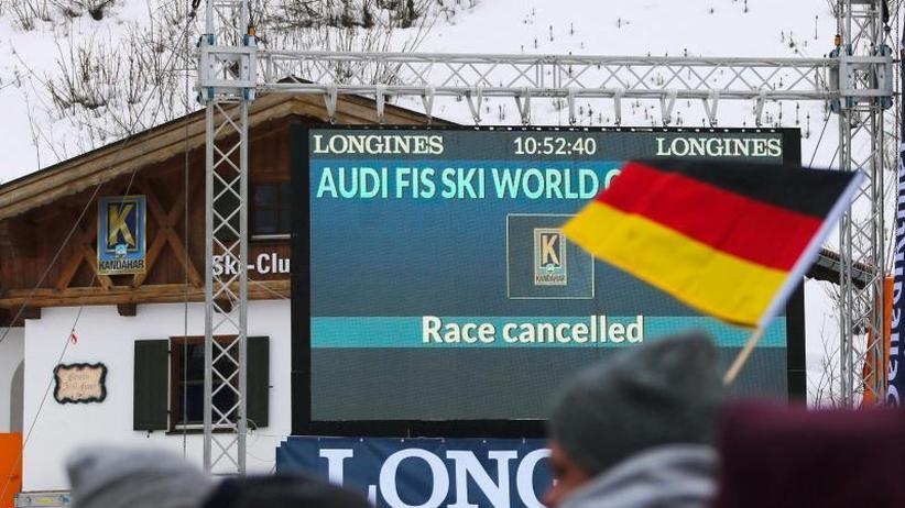 Weltcup Ski alpin: Auch Riesenslalom in Garmisch-Partenkirchen abgesagt