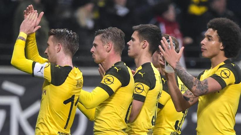 1:1 gegen Eintracht Frankfurt: Der BVB macht einen weiteren Schritt Richtung Titel
