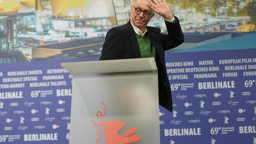 Berlinale: Dieter Kosslick zögert beim Lesen seiner Abschiedspost