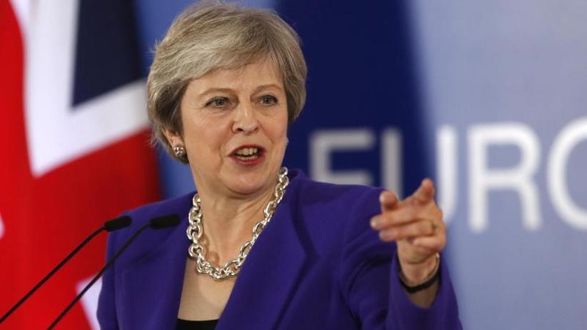 """Gastbeitrag im """"Telegraph"""": May setzt weiter auf Nachverhandlungen beim Brexit"""