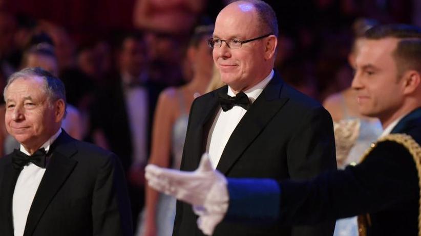 Gala in Dresden: Semperopernball: Fürst Albert und sein Bob-Kollege