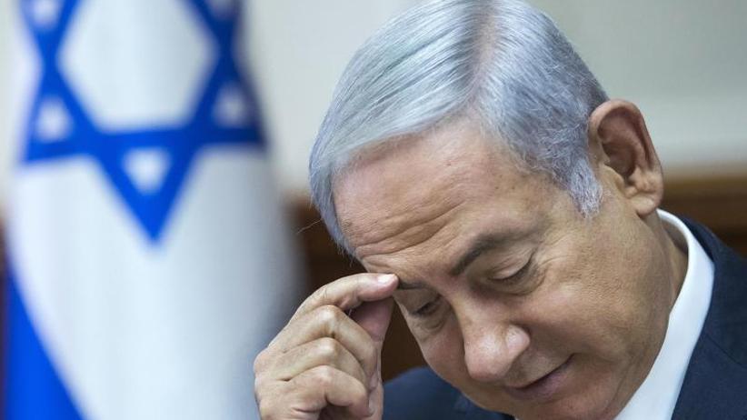 Bestechlichkeit und Bestechung: Unter Druck: Israels Netanjahu droht Korruptionsanklage