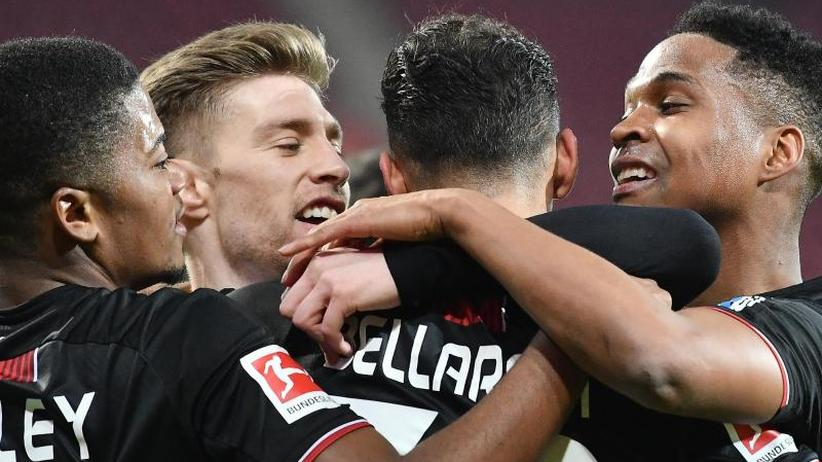 5:1-Sieg beim FSV Mainz 05: Bayer Leverkusen vorerst auf Europapokal-Platz