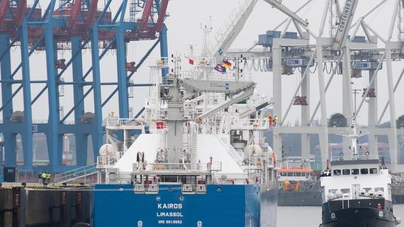 Mehr Terminals in Deutschland: Deutschland will mehr Flüssig-Gas aus den USA