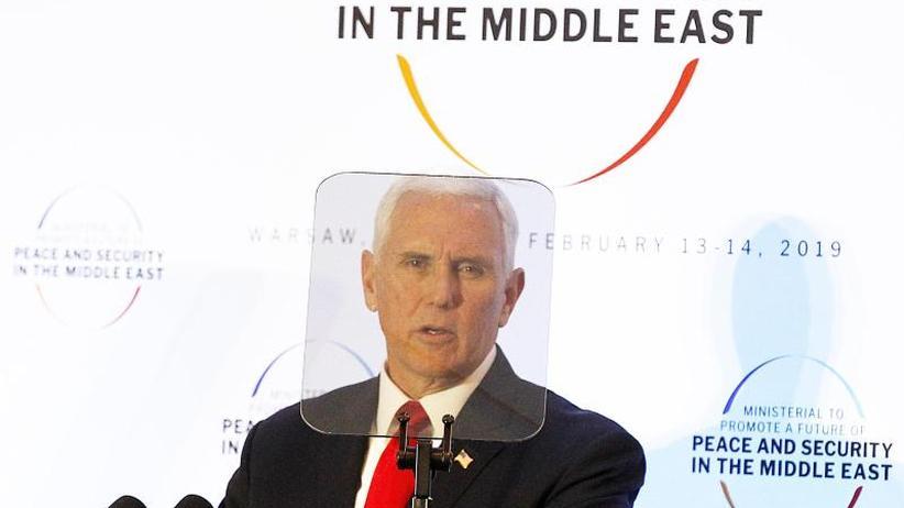 Nahost-Konferenz in Warschau: USA fordern von Europäern Ausstieg aus Iran-Abkommen