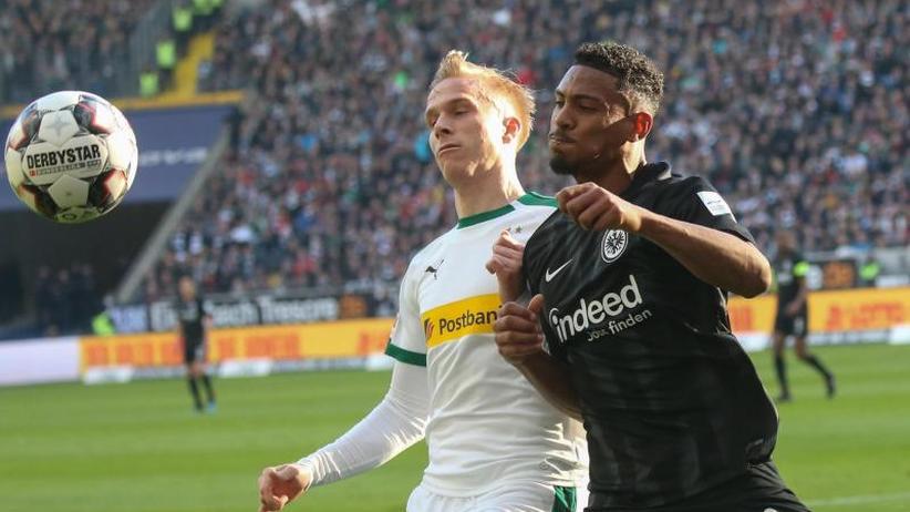 1. Liga: Frankfurt vergibt große Chance: Remis gegen Mönchengladbach