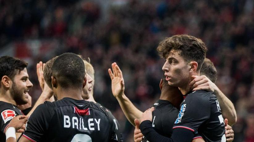 22. Spieltag: Leverkusen weiter imAufwind:2:0 gegen Düsseldorf