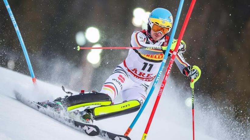 Ski-alpin-WM in Are: Neureuther in WM-Slalom ausgeschieden - Hirscher Weltmeister