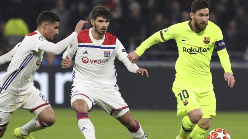 0:0 im Hinspiel: Barcelona lässt in Lyon Chancen aus - Ter Stegen glänzt