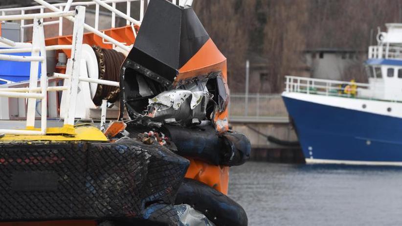 Zusammenstoß östlich der Insel: Mehrere Verletzte bei Schiffsunglück vor Rügen