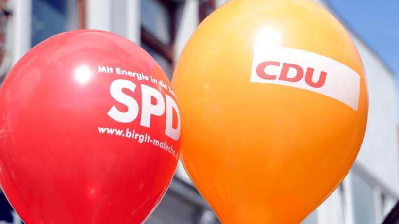 Deutlich im Aufwind: SPD gewinnt dazu, große Koalition wieder mit Mehrheit