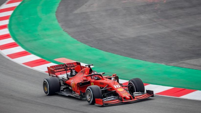 Ferrari-Pilot: Vettels Teamkollege Leclerc gibt Ton bei Formel-1-Tests an