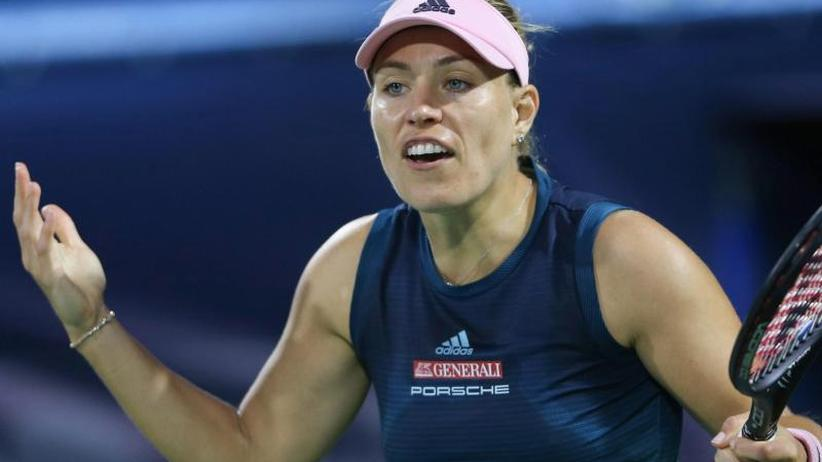 WTA-Turnier: Kerber scheitert in Dubai im Achtelfinale