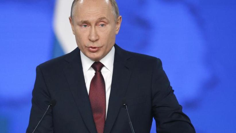 Rede an die Nation: Kremlchef Putin warnt USA vor weiterer Konfrontation