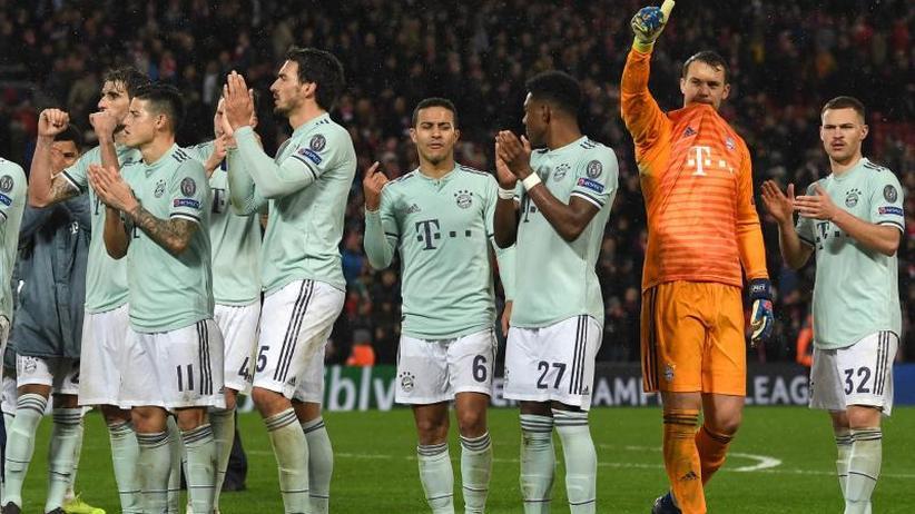"""Champions League: """"Tür ist auf"""": Bayern-Remis in Liverpool als Signal"""