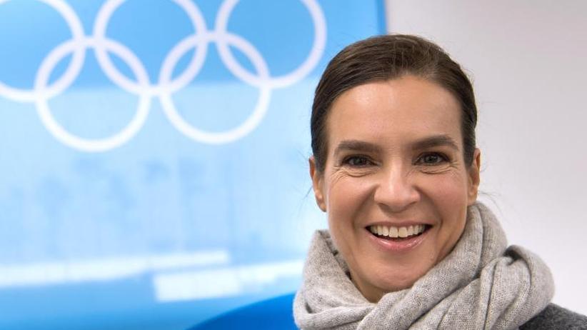 """Eiskunstlauf-Olympiasiegerin: Witt zu einer deutschen Olympia-Bewerbung: """"Erstrebenswert"""""""