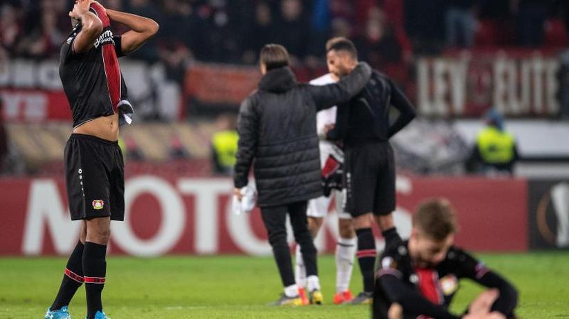 Unentschieden gegen Krasnodar: Bayer Leverkusen scheidet auch in Europa League aus
