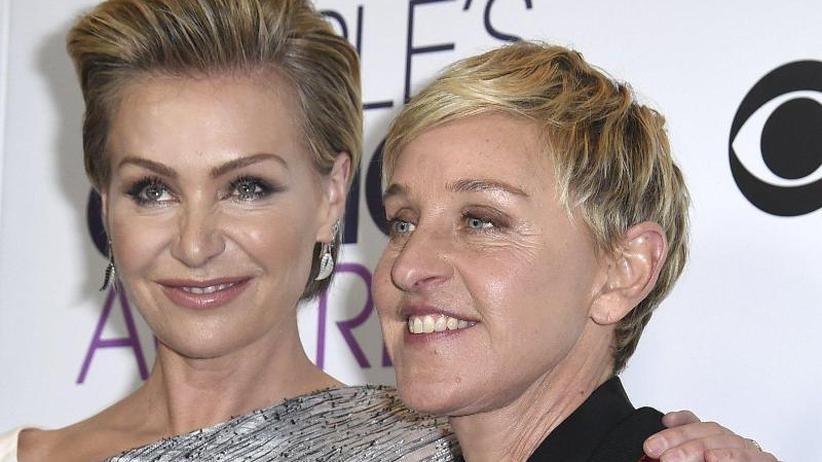 Von Ehefrau Portia de Rossi: Ellen DeGeneres freut sich über nachträgliches Geschenk