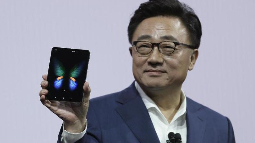 Neuheiten-Präsentation: Samsungs aufklappbares Smartphone soll 2000 Euro kosten