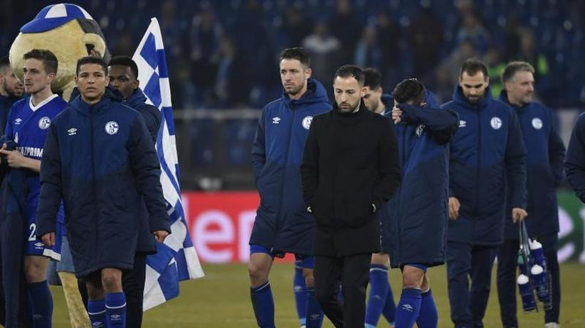 """Champions League: Schalke verpasst magische Nacht - Tedesco """"sehr enttäuscht"""""""