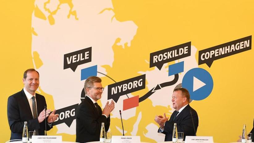 Drei Etappen in Dänemark: Tour startet 2021 in Kopenhagen - Kronprinz begeistert