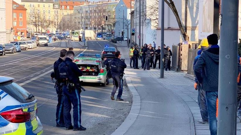 Polizeigroßaufgebot im Einsatz: Zwei Menschen sterben bei Schüssen auf Baustelle in München