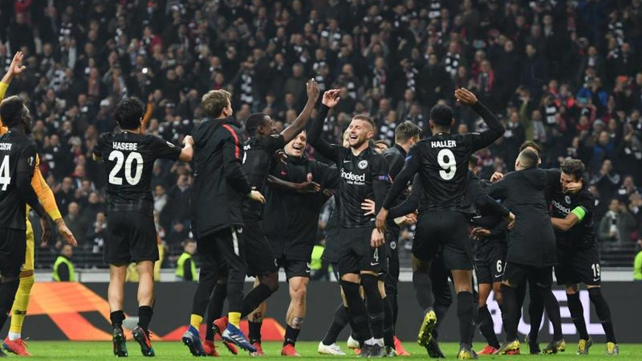 Draw In Nyon Frankfurt In The Europa League Knockout Rounds Against