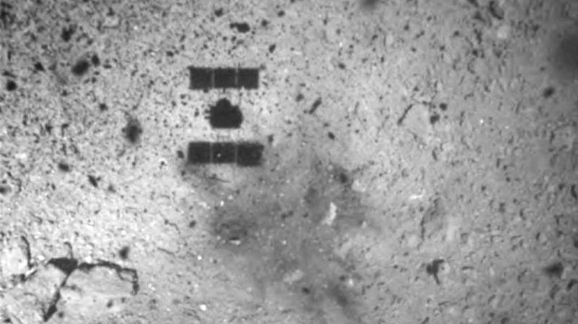 """Raumfahrt: Japanische Raumsonde """"Hayabusa2"""" landet auf Asteroiden Ryugu"""