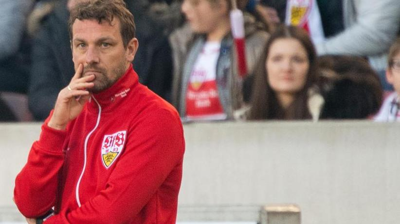 Freitagsspiel der Bundesliga: VfB-Coach Weinzierl in Bremen stark unter Druck