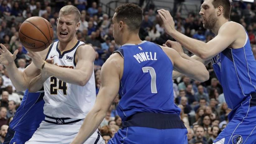 NBA: Dritte Niederlage in Folge für deutsches Mavs-Duo