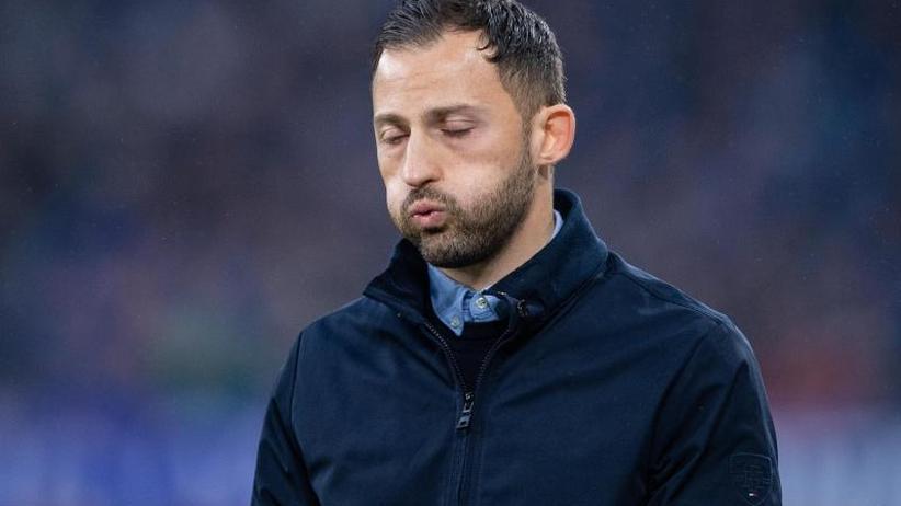 Königsblaue Krise: Blanke Wut auf Schalke: Trainer Tedesco vor dem Aus