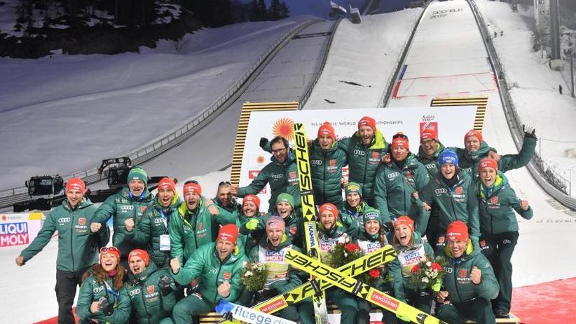 WM-Rekordergebnis: Goldene Tage von Seefeld: Skispringer setzen neue Maßstäbe
