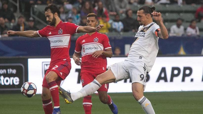 MLS: Ibrahimovic erzielt Siegtreffer gegen Schweinsteiger-Team