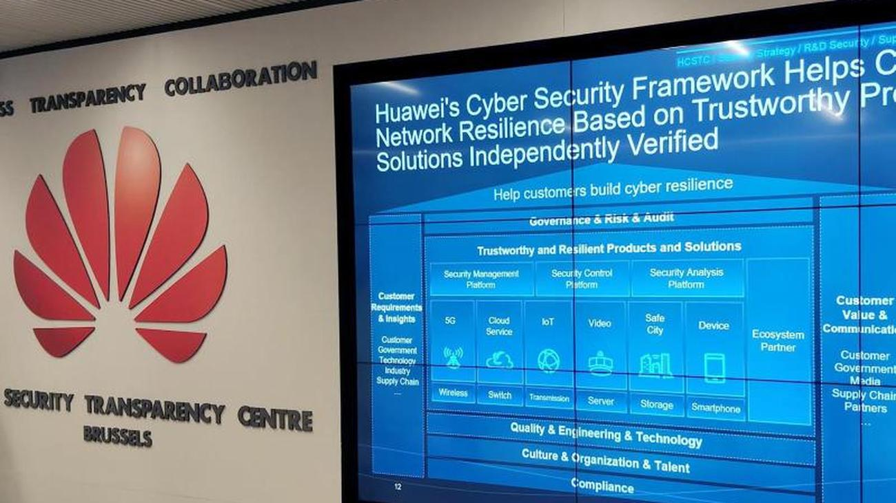 Next to Bonn and Paris: Huawei opens Cybersecurity Center in