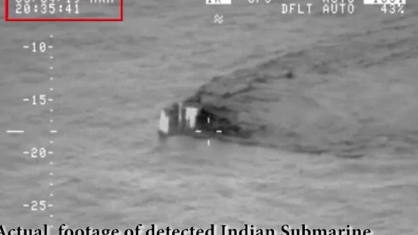 Verfeindete Atommächte: Pakistan: Indisches U-Boot wollte in Seegebiet eindringen