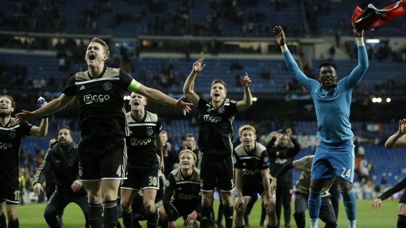Champions League: Titelverteidiger Real Madrid scheitert an Ajax Amsterdam