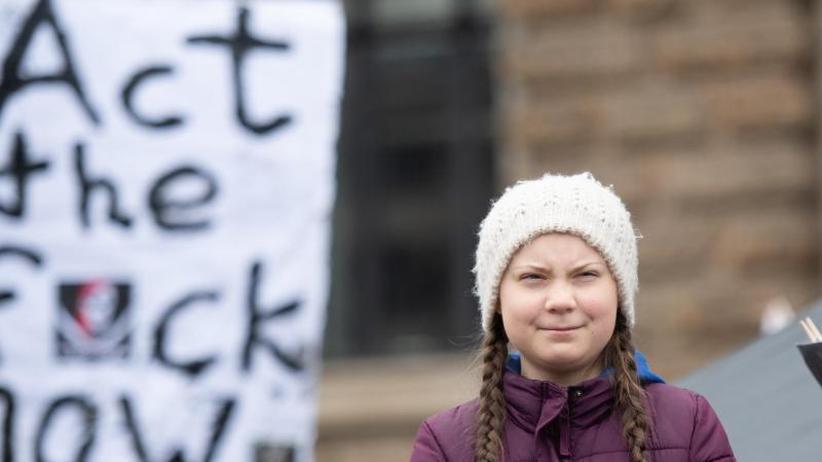 """Schulstreik fürs Klima: Klimaaktivistin Greta Thunberg in Schweden """"Frau des Jahres"""""""