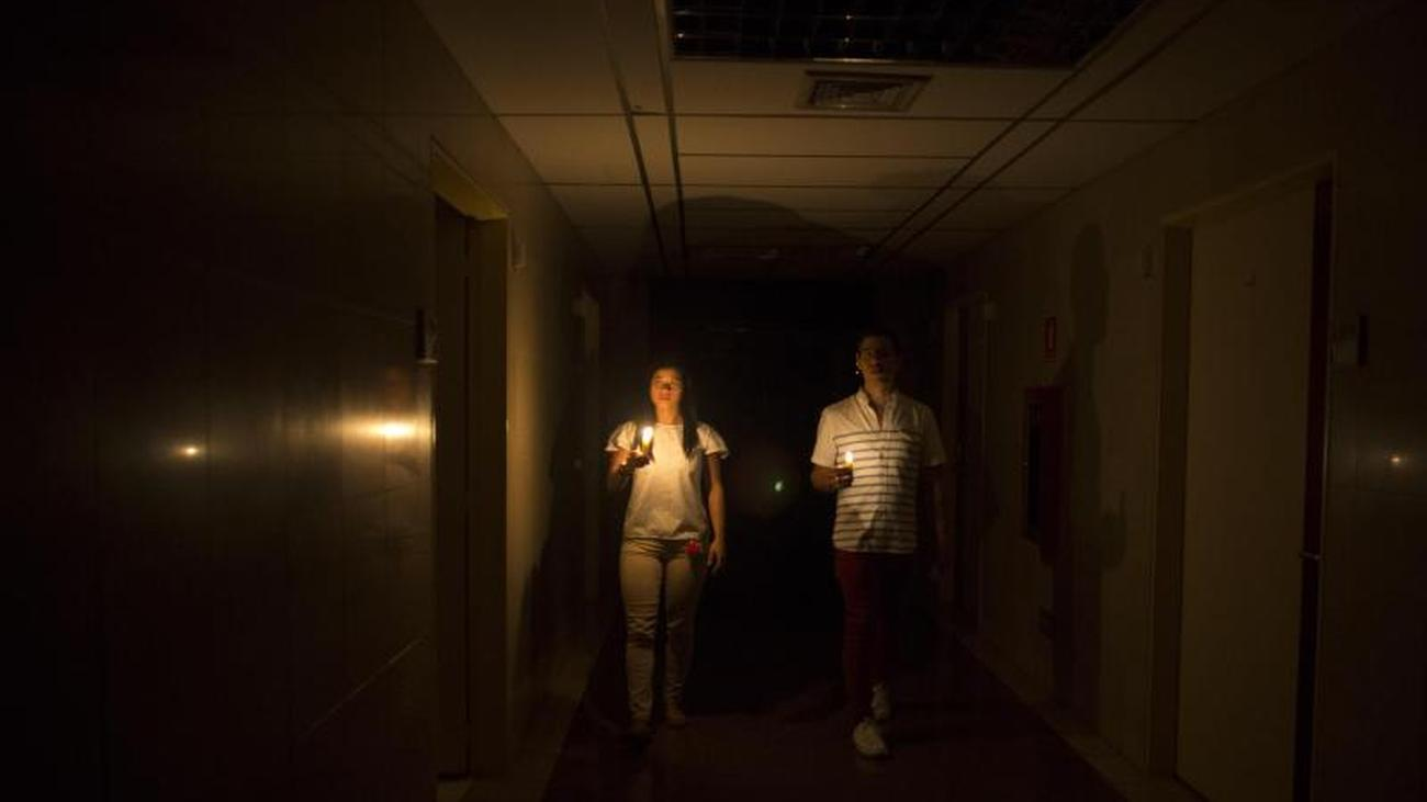 Because of ongoing power outage: Venezuela's parliament