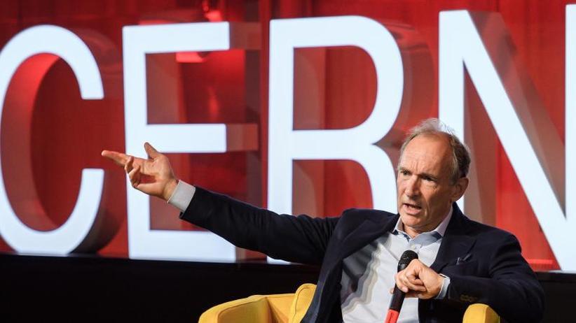 Erfinder zu Besuch in Genf: Cern feiert 30 Jahre World Wide Web mit Tim Berners-Lee