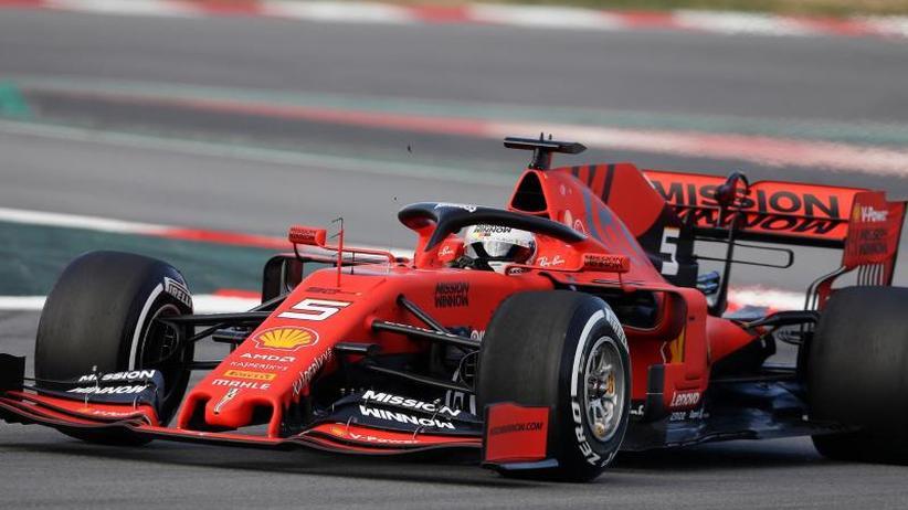 """Formel-1-Saisonstart: Mit """"Lina"""" ins Glück: Vettel bereit für Duell mit Hamilton"""