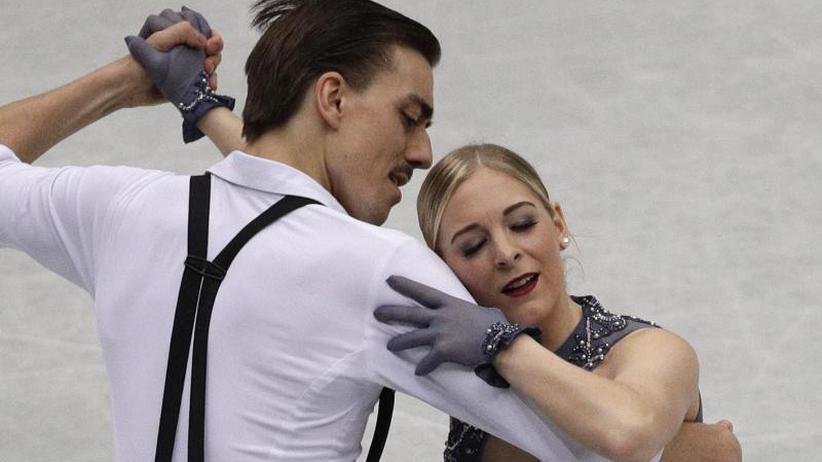 Sieg an französisches Duo: Eistänzer Koch/Nüchtern beenden Eiskunstlauf-WM mit Platz 18