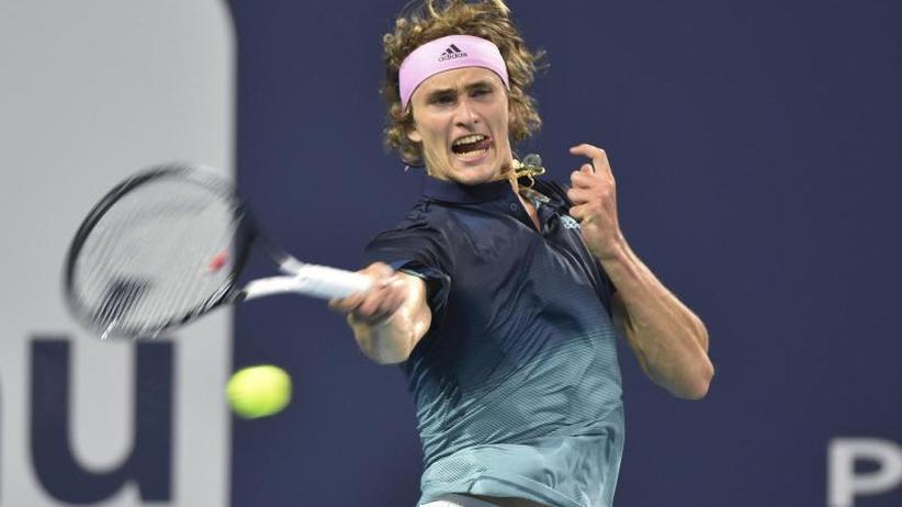ATP-Turnier: Alexander Zverev in Miami ausgeschieden