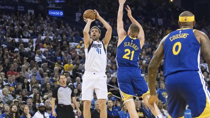 NBA: Neuer Saisonbestwert: Nowitzki glänzt bei Mavs-Erfolg