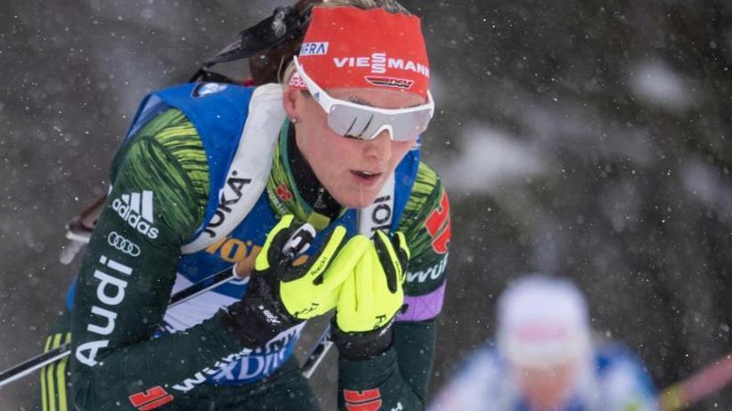 Biathlon-Saisonabschluss: Weltmeisterin Herrmann zum Abschluss Vierte im Massenstart